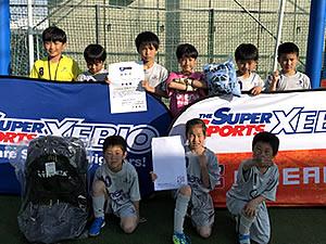 Super Sports XEBIO CUP 準優勝